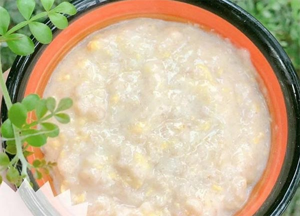 Cách nấu cháo yến mạch trứng gà (2)