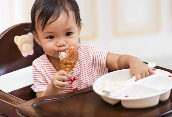 Lợi ích của thịt gà khi cho bé ăn dặm