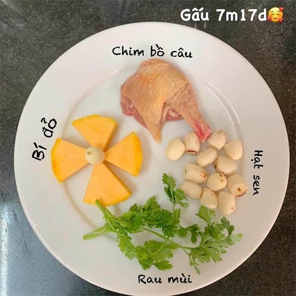 Thuc Don An Dam Truyen Thong Cho Be 7 Thang Tuoi 14