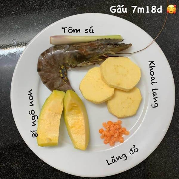 Thuc Don An Dam Truyen Thong Cho Be 7 Thang Tuoi 7