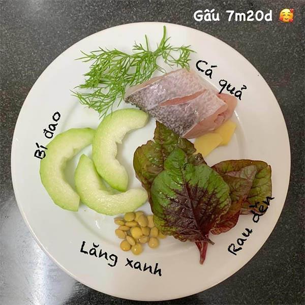Thuc Don An Dam Truyen Thong Cho Be 7 Thang Tuoi 9