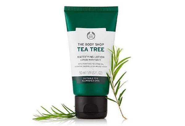 Kem dưỡng ẩm trà xanh The Body Shop Tea Tree cho da mụn
