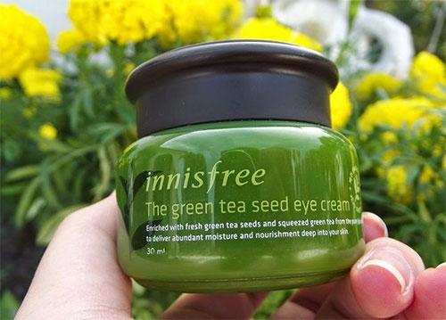 Kem dưỡng da ban đêm Innisfree Green Tea Seed Cream