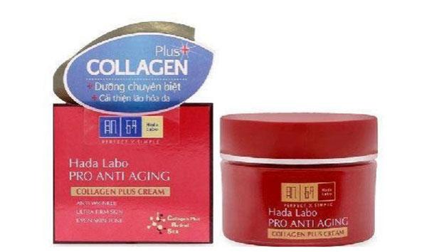 Kem chống lão háo Hada Labo Pro Anti Aging Collagen Plus Cream