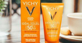 Kem chống nắng Vichy Ideal Soleil cho da dầu mụn