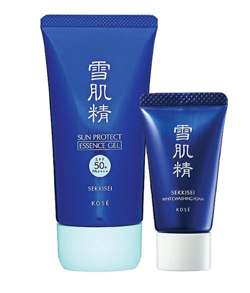 Kem chống nắng Kose Sekkisei Sun Protect Gel/Milk của Nhật