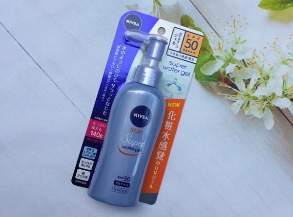 Kem chống nắng Nhật Bản NIVEA Sun Super Protect Water Gel SPF 50+ PA+++