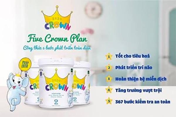Sữa Koko Crown cho trẻ 0 - 3 tuổi của tập đoàn Namyang Hàn Quốc