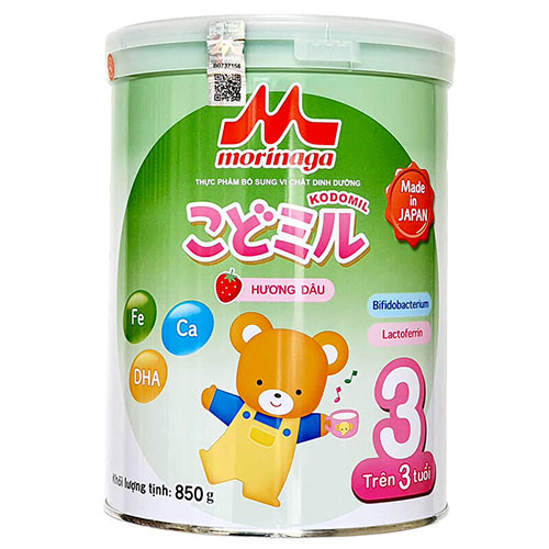 Sữa Morinaga Kodomil số 3 Nhật Bản