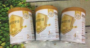 Sữa XO Hàn Quốc cho trẻ 0 - 15 tuổi