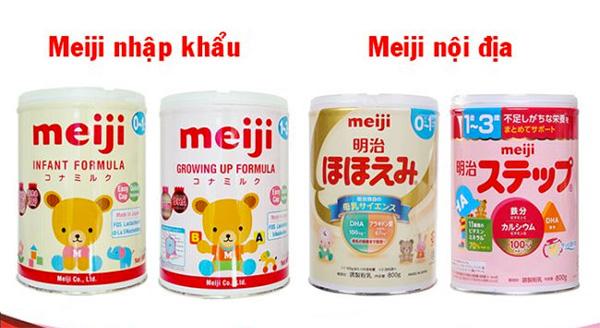 Sữa Meiji Nhật Bản là dòng sữa cân đối nhất, giúp bé phát triển toàn diện
