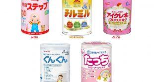 Sữa Nhật cho trẻ sơ sinh loại nào tốt?